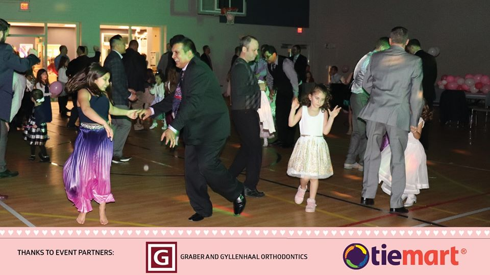 Daddy Daughter Dance at the Dunbar Recreation Center