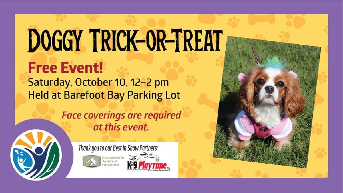 Doggy Trick-or-Treat at Barefoot Bay Aquatic Center