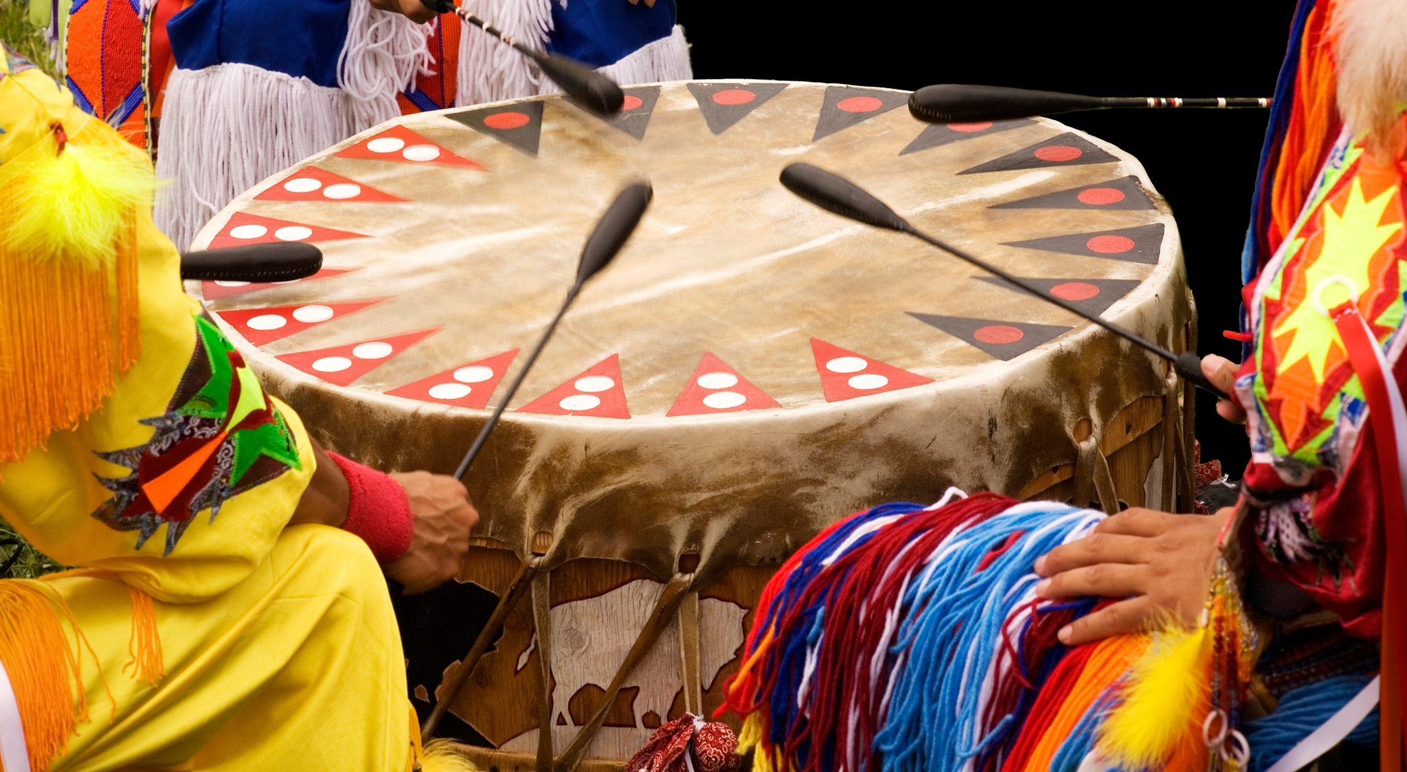 Native Drum Circle and Storytelling at the Bess Bower Dunn Museum