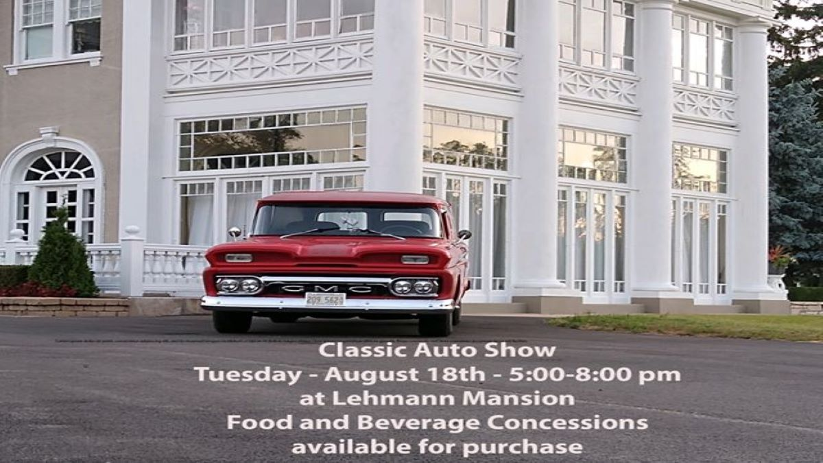 Classic Car Show at Eddie B's Supper Club at Lehmann Mansion