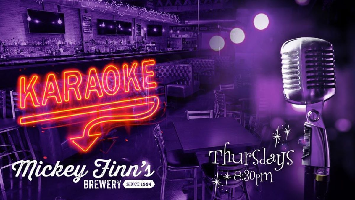 Karaoke at Mickey Finn's Brewery
