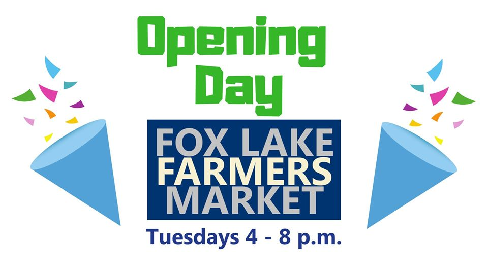 Opening Day at the Fox Lake Farmers Market