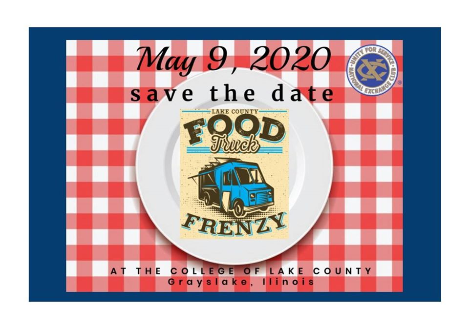 ***POSTPONED ***Lake County Food Truck Frenzy at College of Lake County