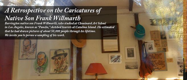 A Retrospective on the Caricatures of Native Son Frank Willmarth