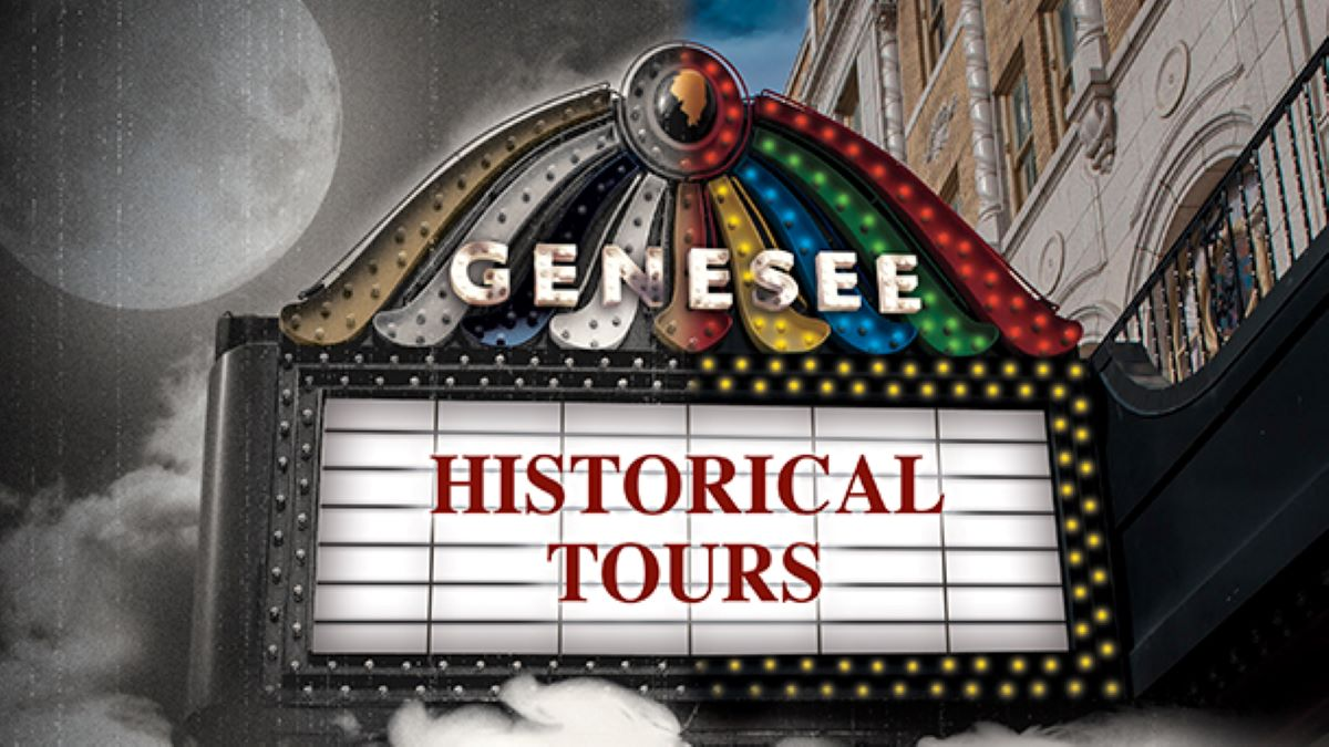 Historical Tours at the Genesee Theatre