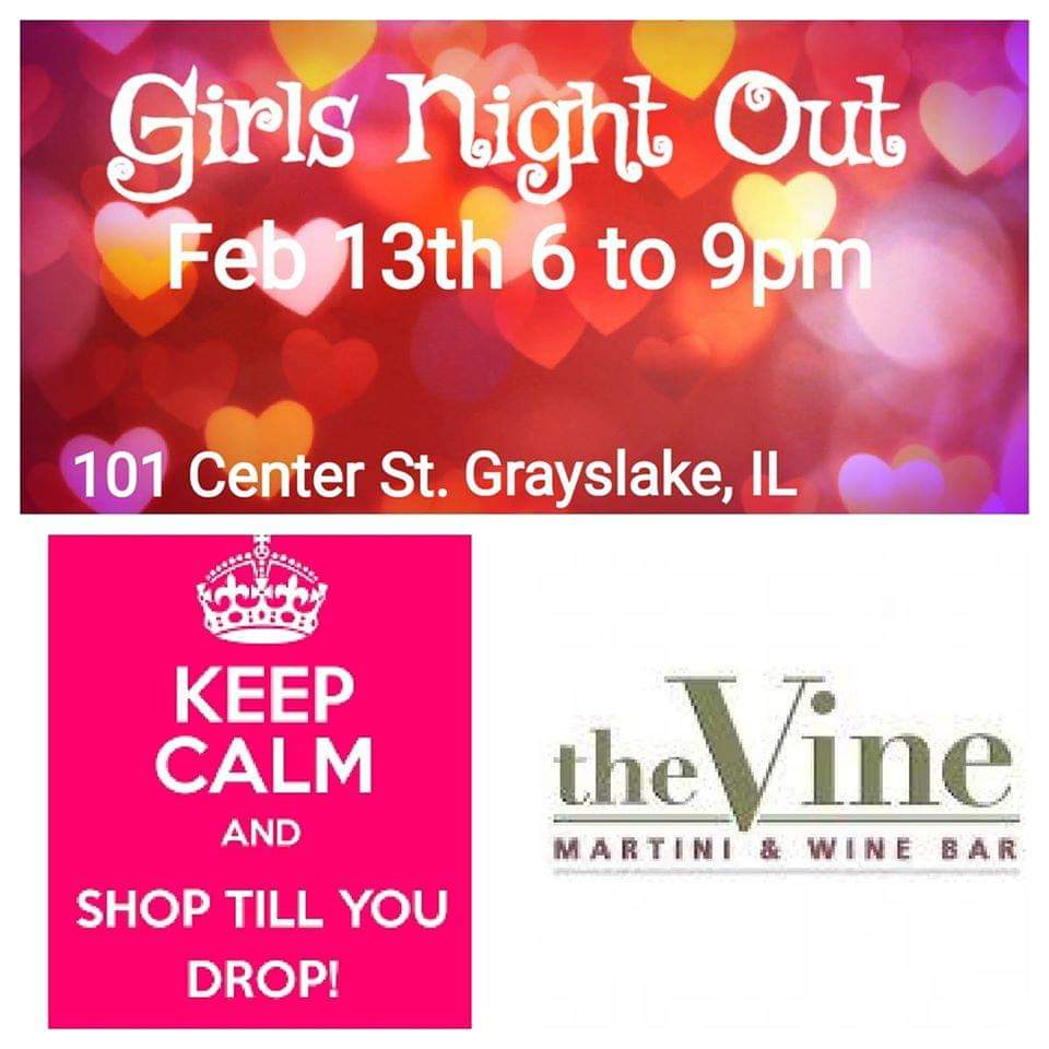 Ultimate Girls Night Out at The Vine Martini & Wine Bar