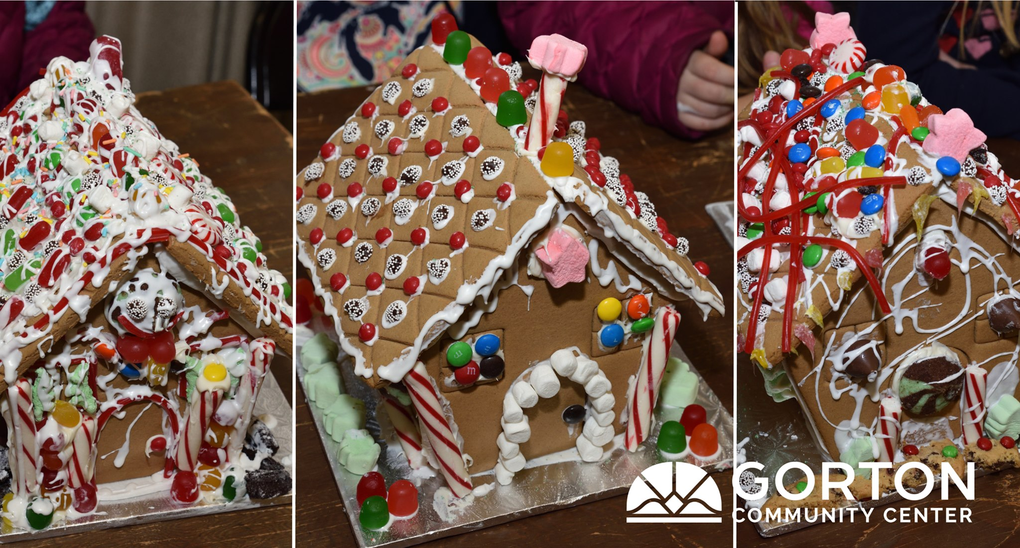 Gingerbread House Decorating Party 2019 at Gorton Community Center