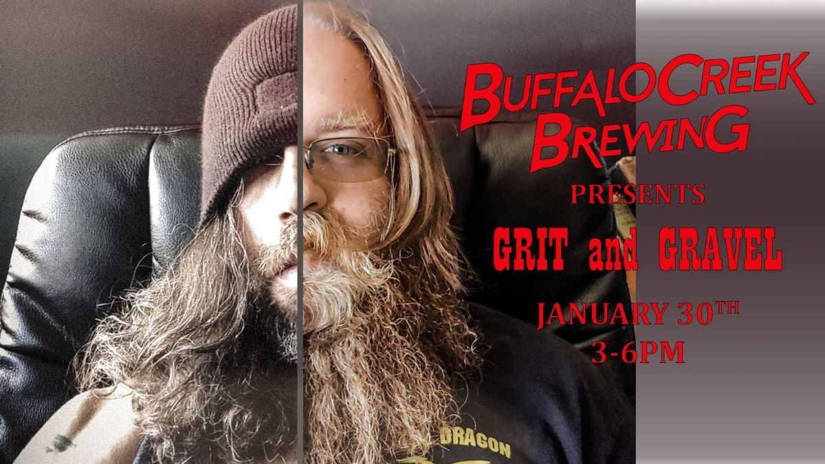 Pint of Music - Grit and Gravel at Buffalo Creek Brewing Co.