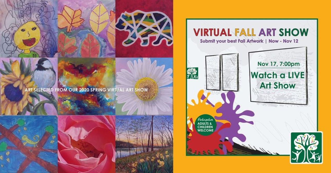 Virtual Fall Art Show with Gurnee Park District