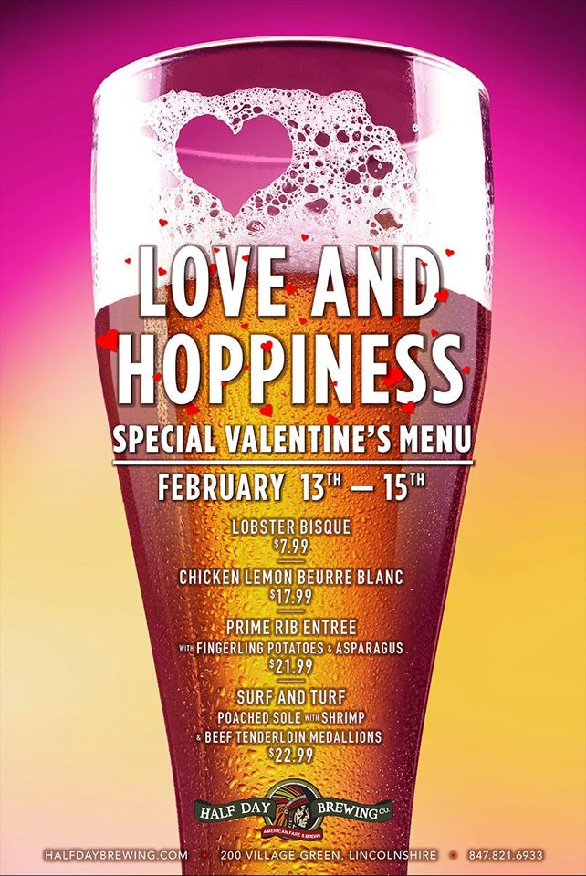 Valentine's Day at Half Day Brewing Company