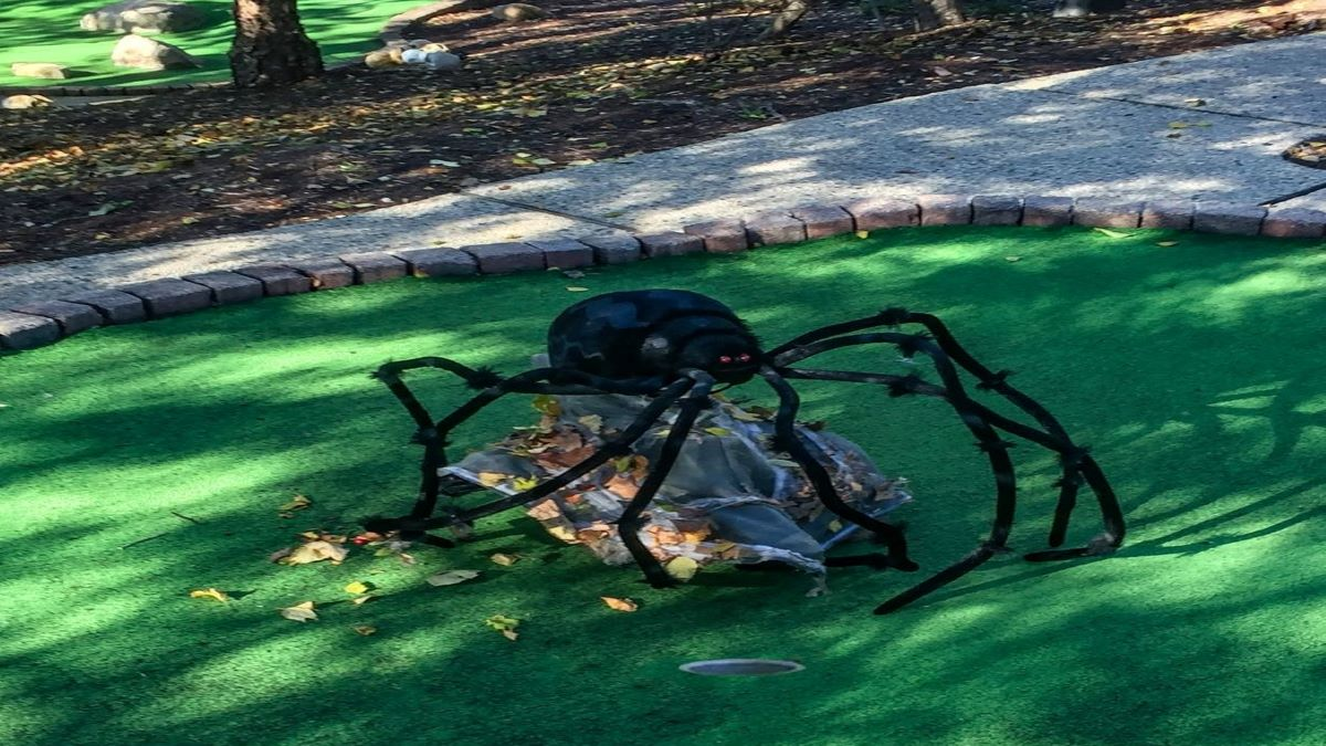 Halloween Mini Golf at Park District of Highland Park