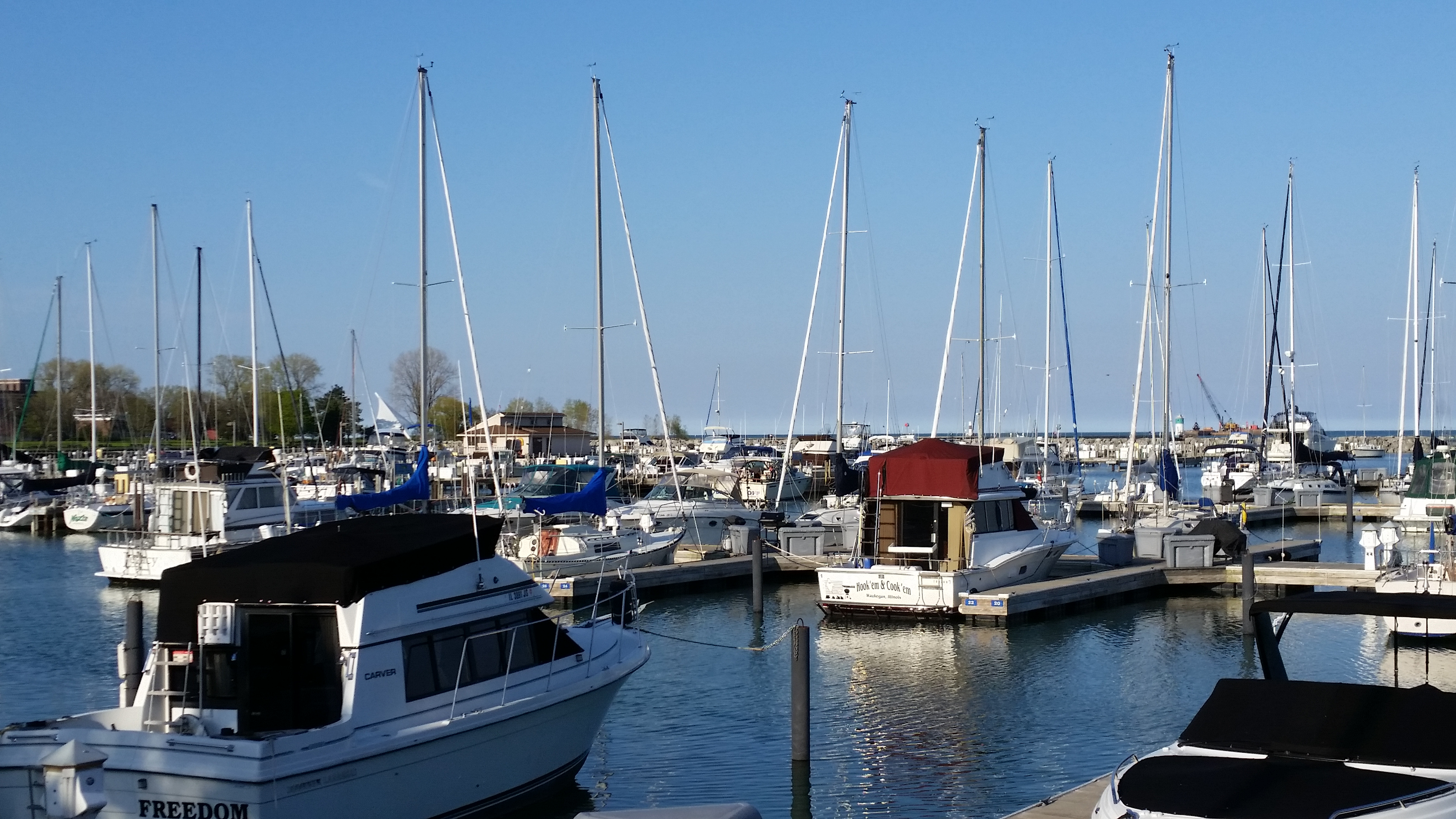 Boating Season Begins at Waukegan Harbor & Marina