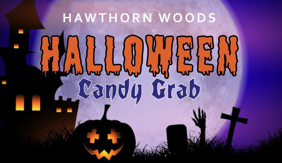 Halloween Candy Grab at Village of Hawthorn Woods