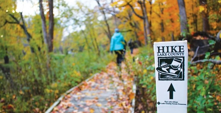 Hike Lake County Challenge with the Lake County Forest Preserves
