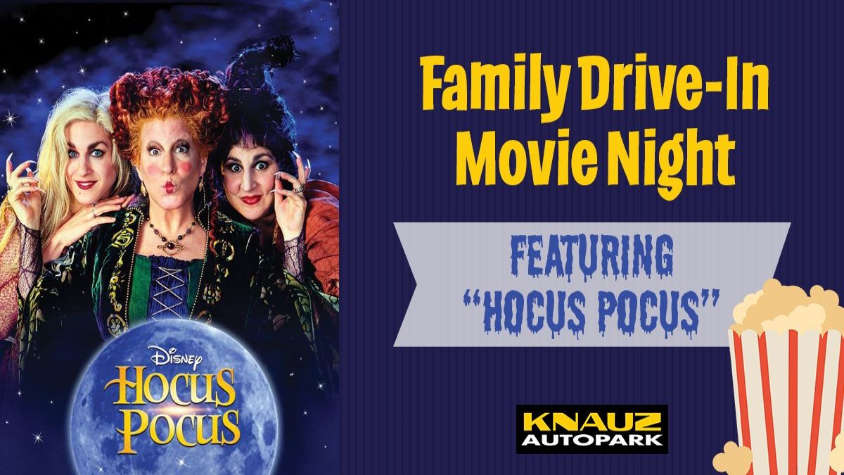 Family Drive In Movie Night Featuring Hocus Pocus at Lake Forest Parks and Recreation