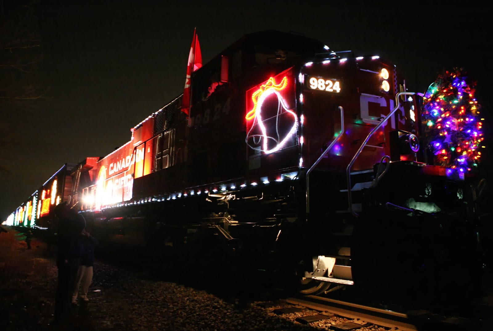Canadian Pacific Holiday Train in Viking Park