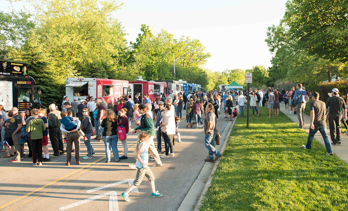 Highland Park's Ravinia District Food Truck Thursdays