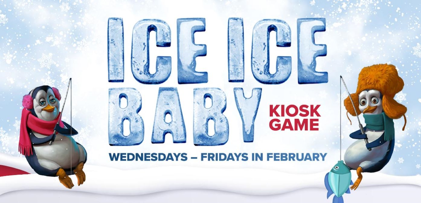 Ice Ice Baby Kiosk Game all February at Potawatomi Casino Hotel