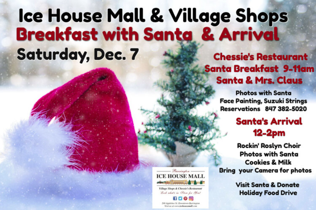 Visit With Santa at the Ice House Mall