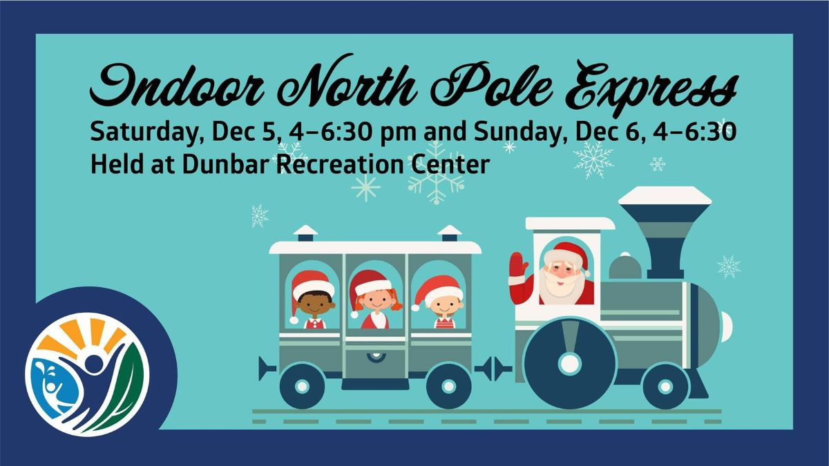Indoor North Pole Express with Mundelein Parks and Recreation
