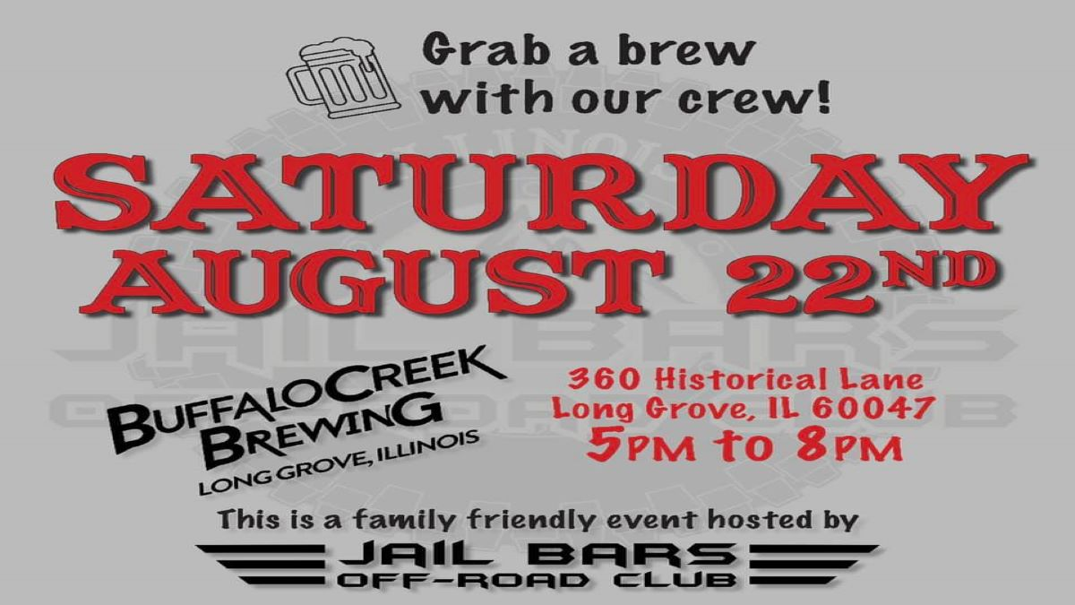 Jail Bars Off:  3rd Annual Meet and Greet at Buffalo Creek Brewery