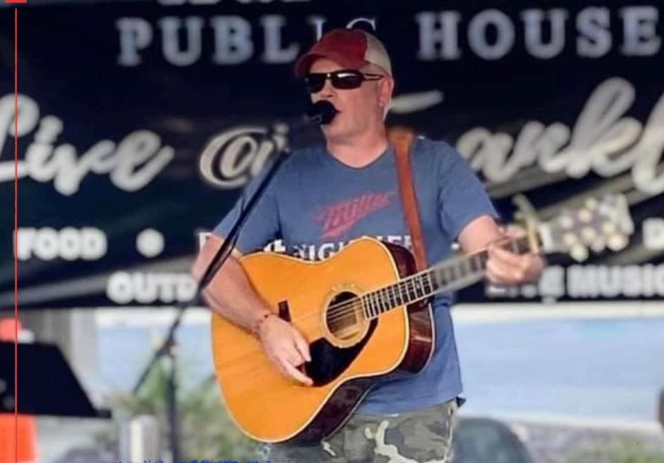 Jimmy Carol performs at Copper Fiddle Distillery