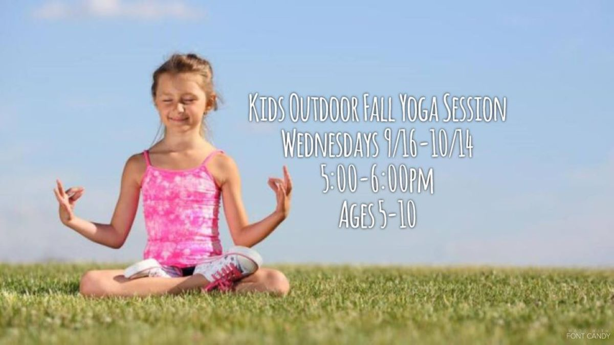 Kids Outdoor Fall Yoga in Antioch