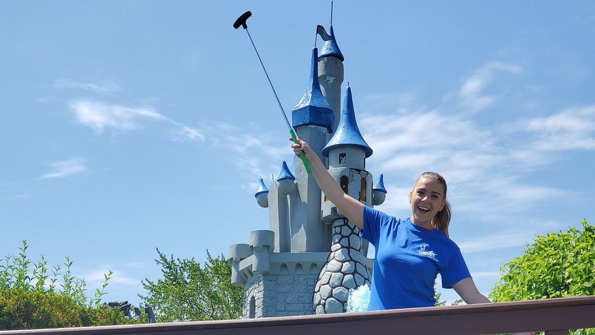 Miniature Golf at Kristof's Entertainment Center is now open!