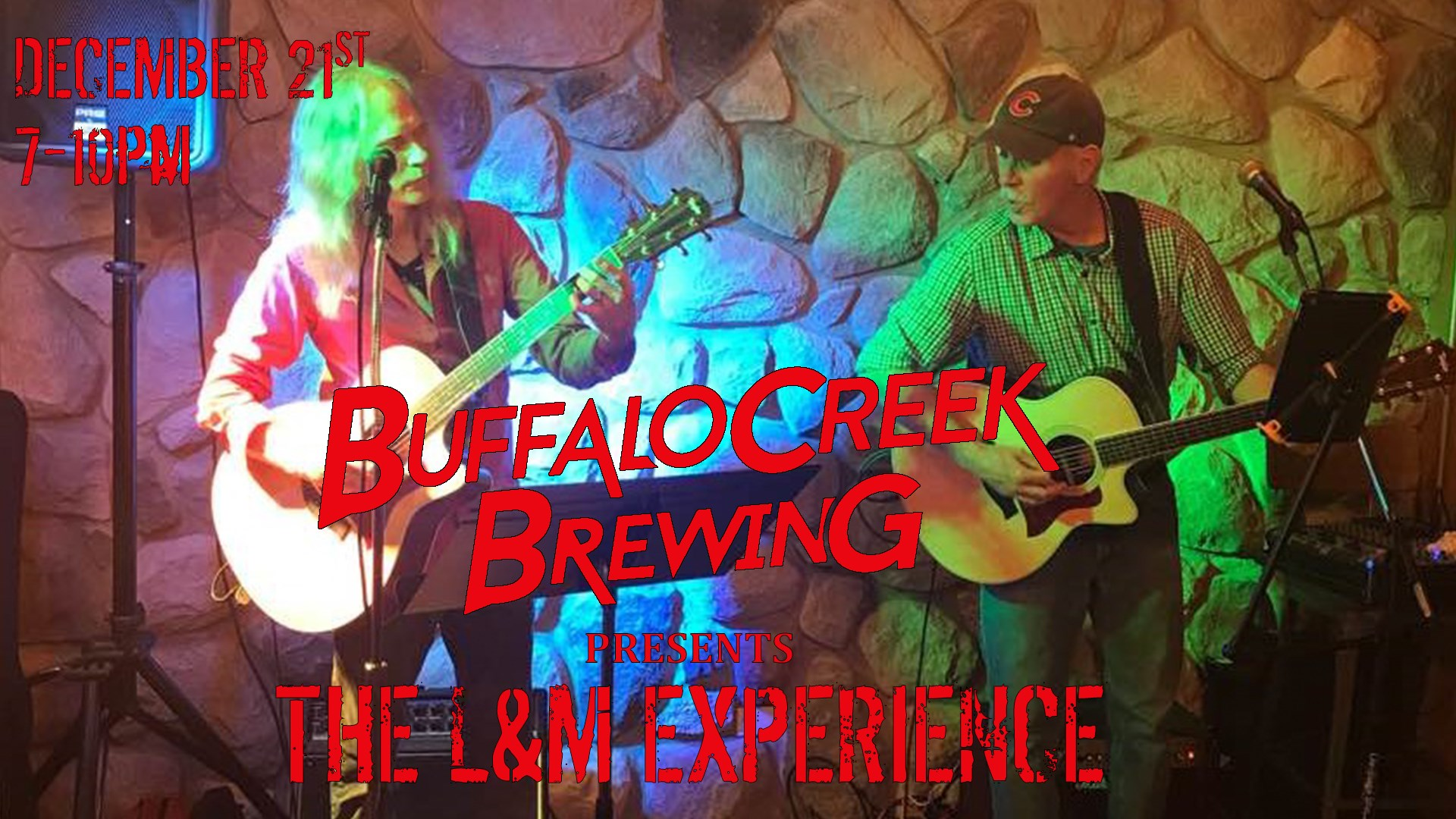 Buffalo Creek Brewing Pint of Music - The L&M Experience