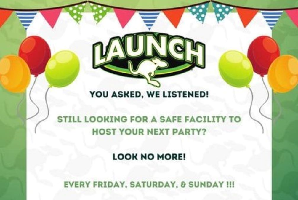 Launch Trampoline Park Gurnee Reopens for Private Parties!