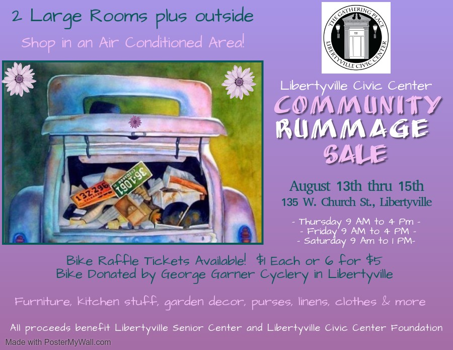 Community Rummage Sale at Libertyville Civic Center