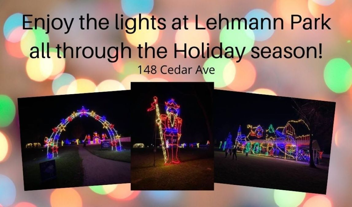 Holiday Lights Walk Thru at Lehmann Park