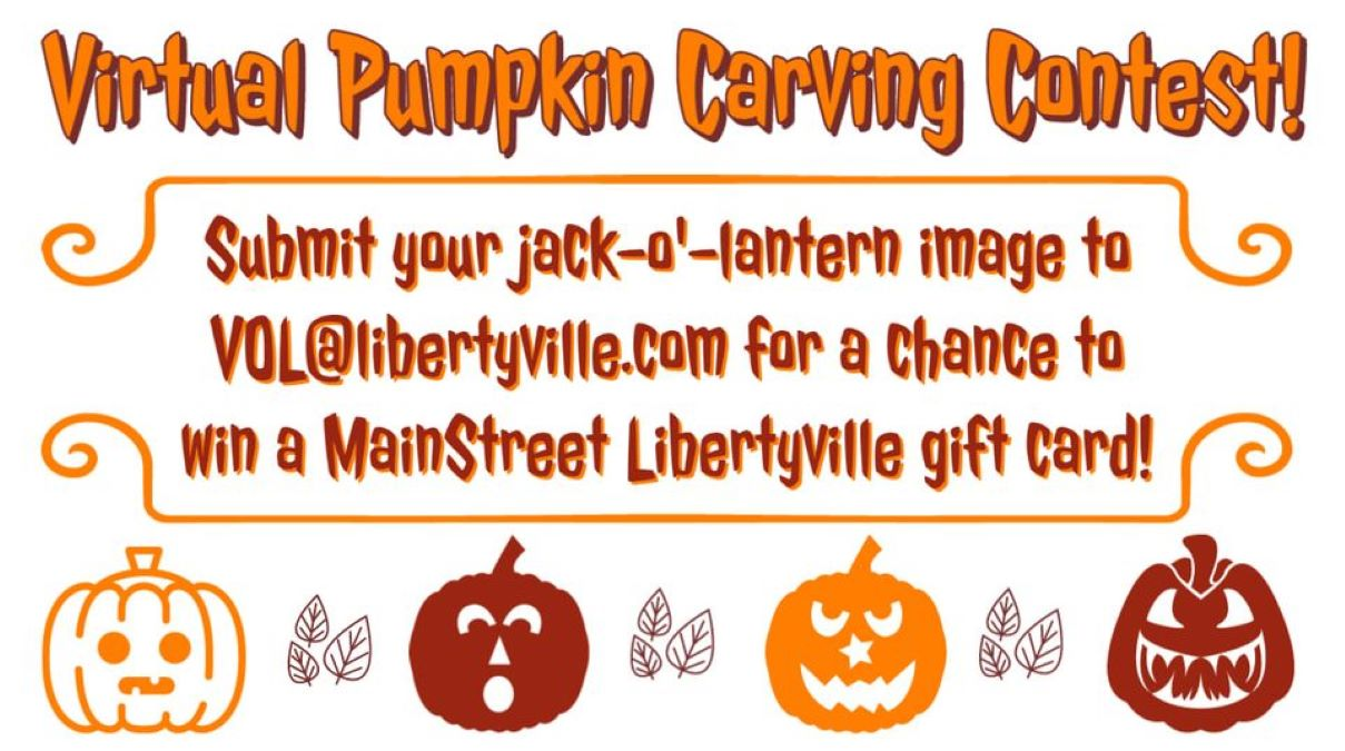 Virtual Pumpkin Carving Contest with Libertyville Recreation Department