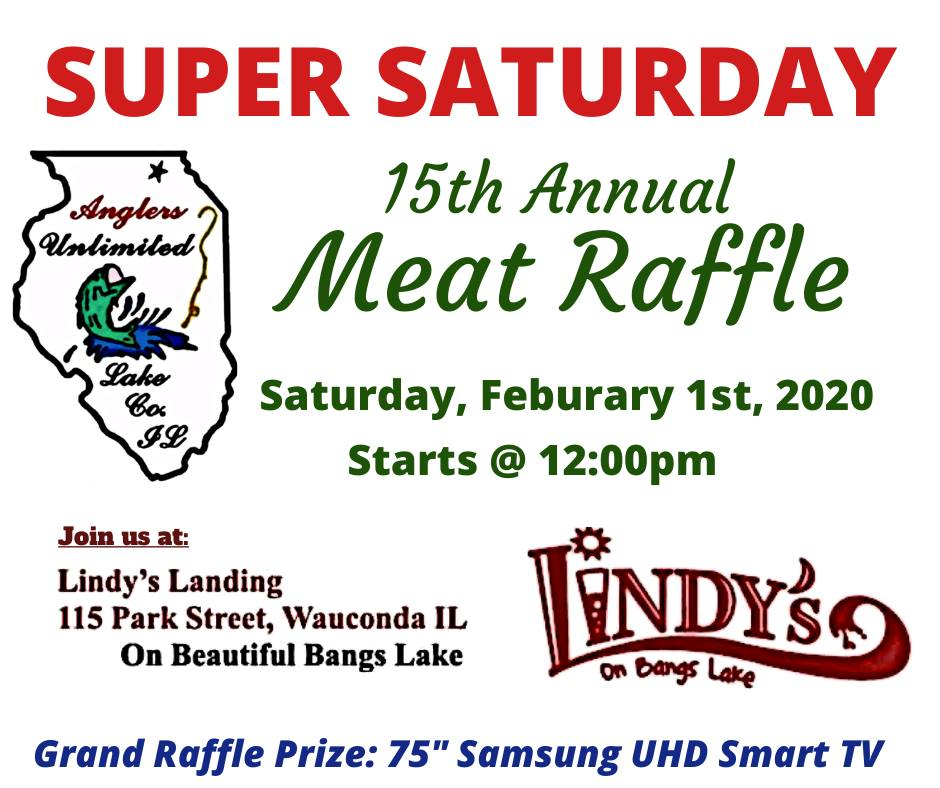 cAnglers-Unlimited 15th Annual Meat Raffle at Lindy's Landiny