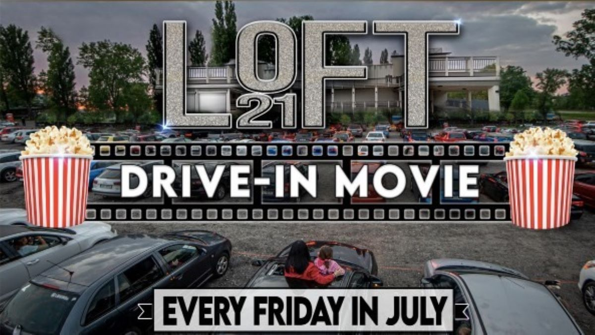 E.T. Drive-in Movie at Loft 21/Hype Productions