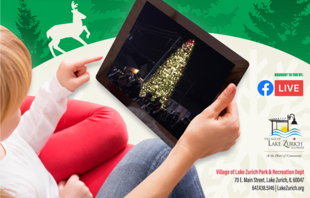 Virtual Tree Lighting with Village of Lake Zurich