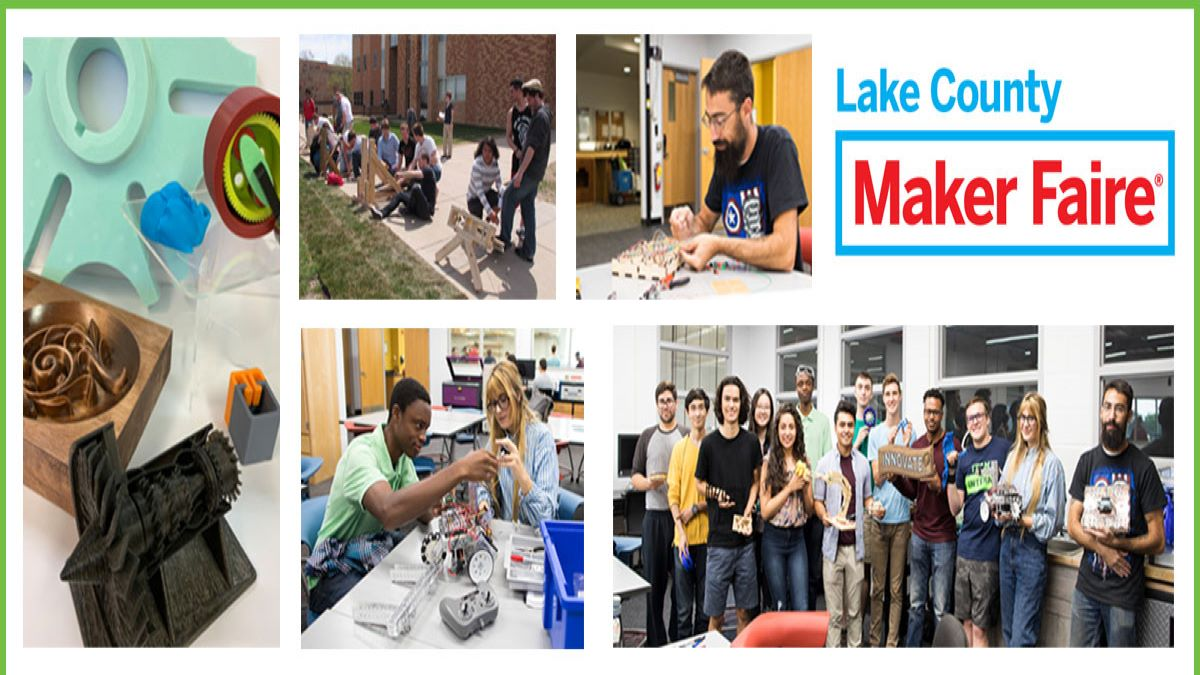 Lake County Maker Faire Virtual Event - College of Lake County