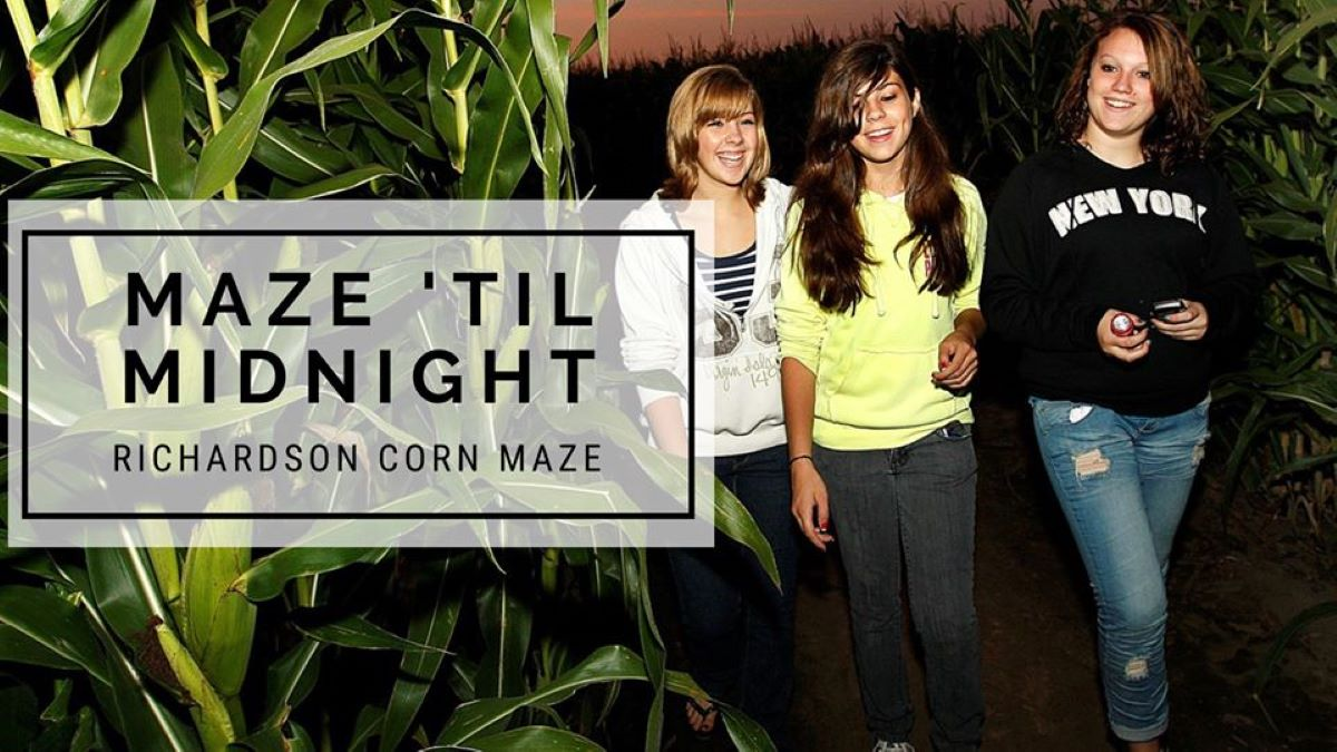 Maze Until Midnight at Richardson Adventure Farm and Corn Maze