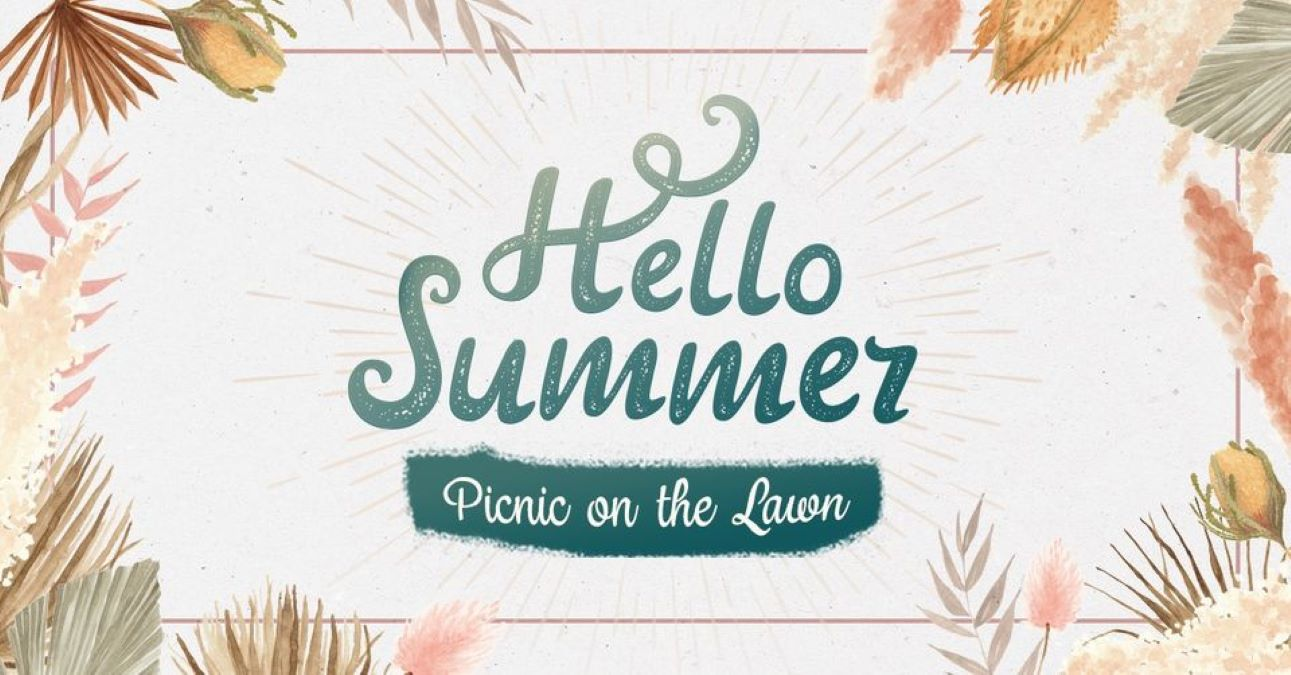 Hello Summer - Picnic on the Lawn at Mellody Farm