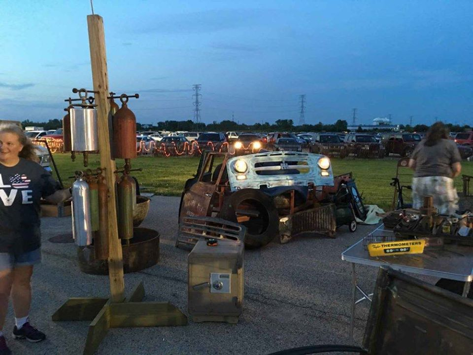 Grayslake Moon Light Flea Market at the Lake County Fairgrounds