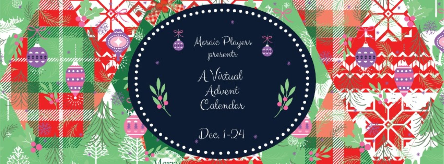 Virtual Advent Calendar with Antioch's Mosaic Players