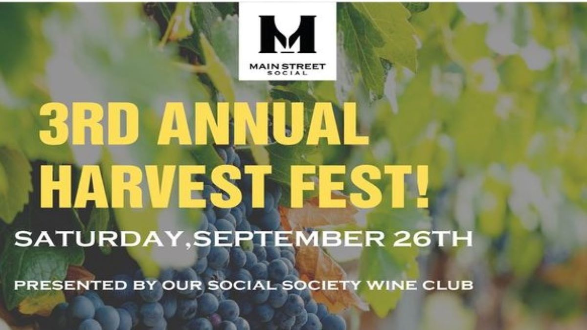 3rd Annual Harvest Fest at Main Street Social