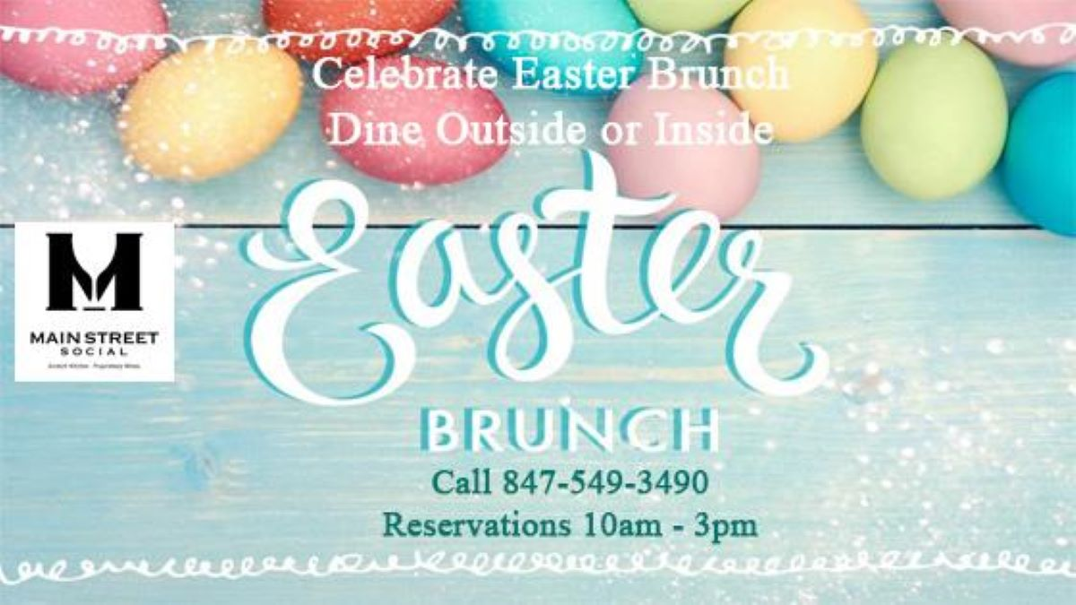 Easter Brunch at Main Street Social