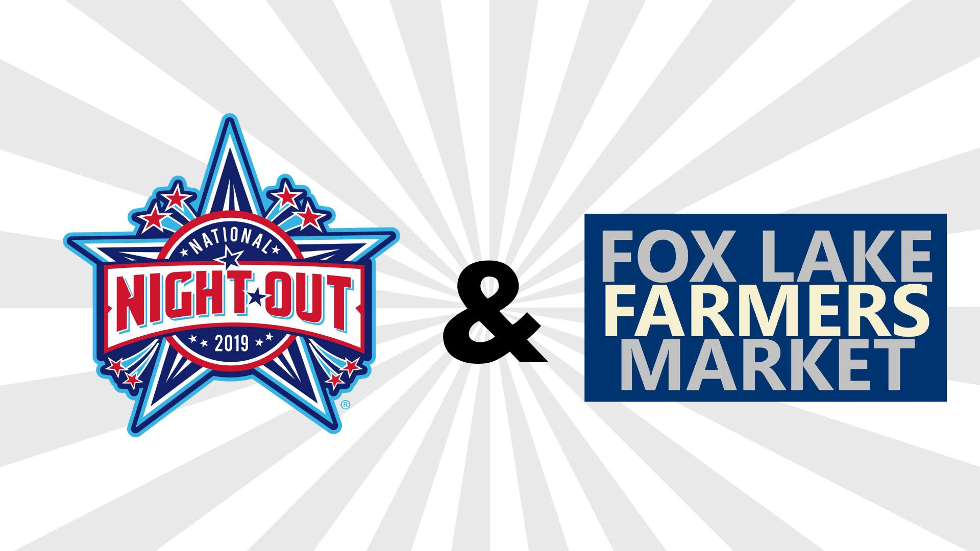 Fox Lake's National Night Out at the Fox Lake Farmers Market