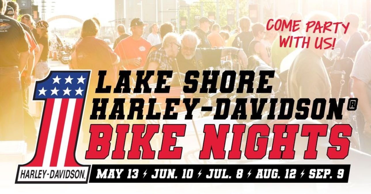 Bike Night at Lake Shore Harley-Davidson and North Shore Distillery