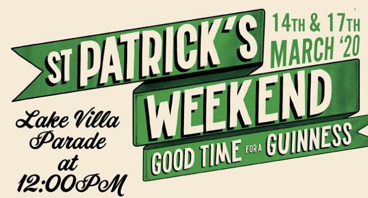 St. Patricks Weekend at Timothy O'Toole's Pub Lake Villa