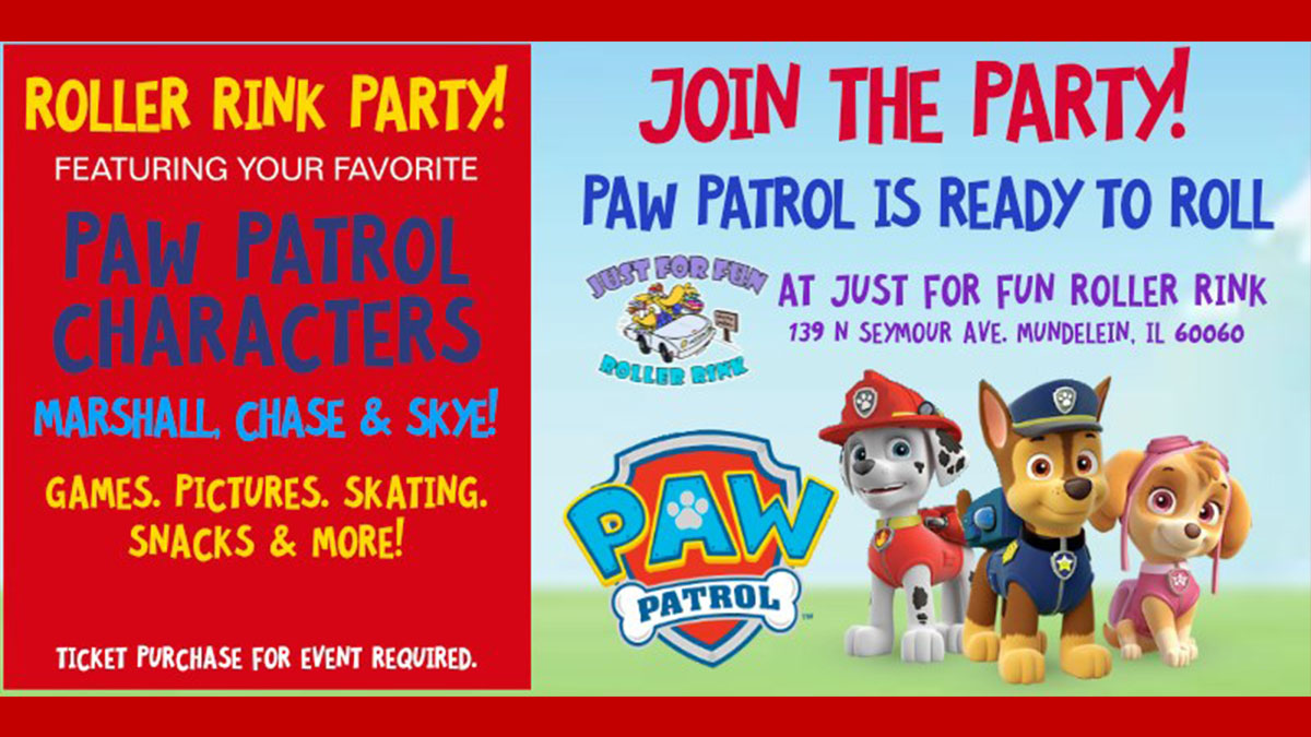 Paw Patrol is Ready to Roll in the Village of Mundelein