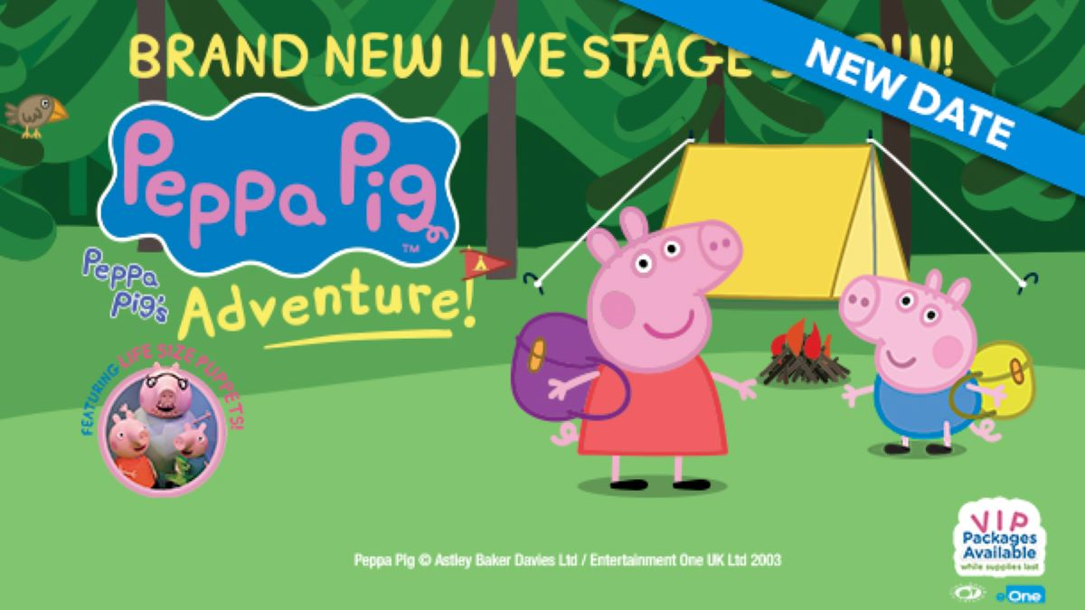 ***CANCELED***Peppa Pig Live! Peppa Pig's Adventure at Genesee Theatre