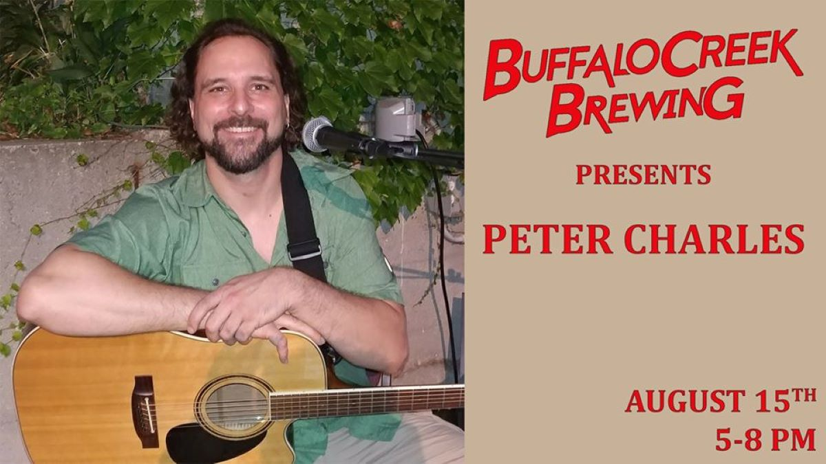 Pint of Music - Peter Charles at Buffalo Creek Brewery