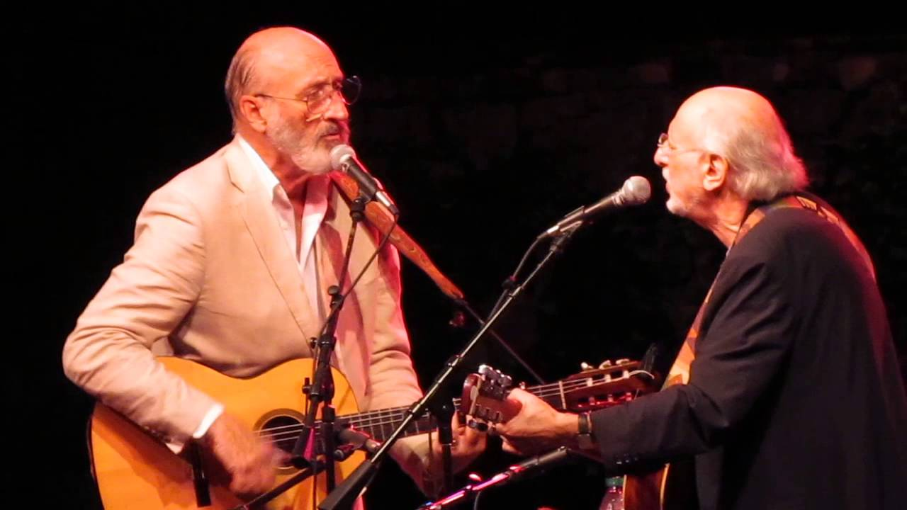 Peter Yarrow and Noel Paul Stookey of Peter, Paul and Mary at Ravinia
